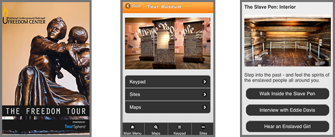 National Underground Railroad Freedom Center TourSphere App