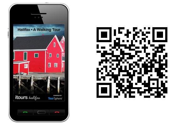 Halifax Mobile Tour Splash Screen / QR Code