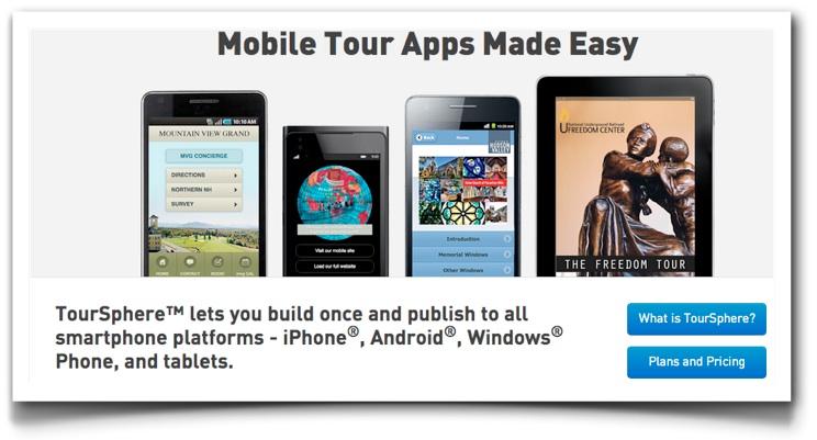 TourSphere Website 2.0