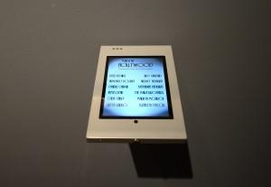 Kiosk app at the Toledo Museum of Art. Photo by Andrew Weber.