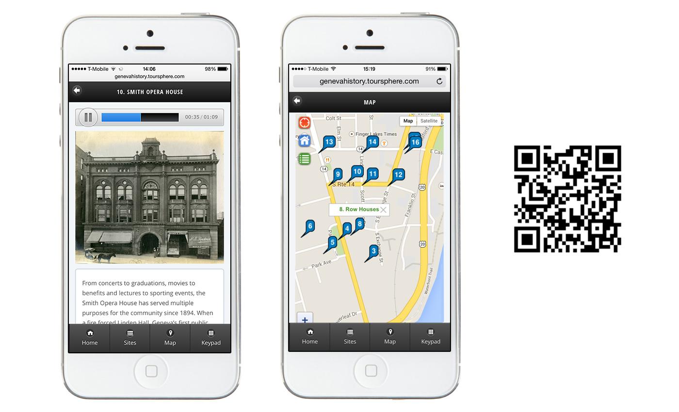 Geneva Walking Tour App