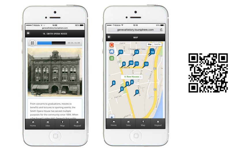 Geneva Historical Tour App