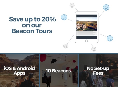 beacon tours and native apps for museums, parks, and cities