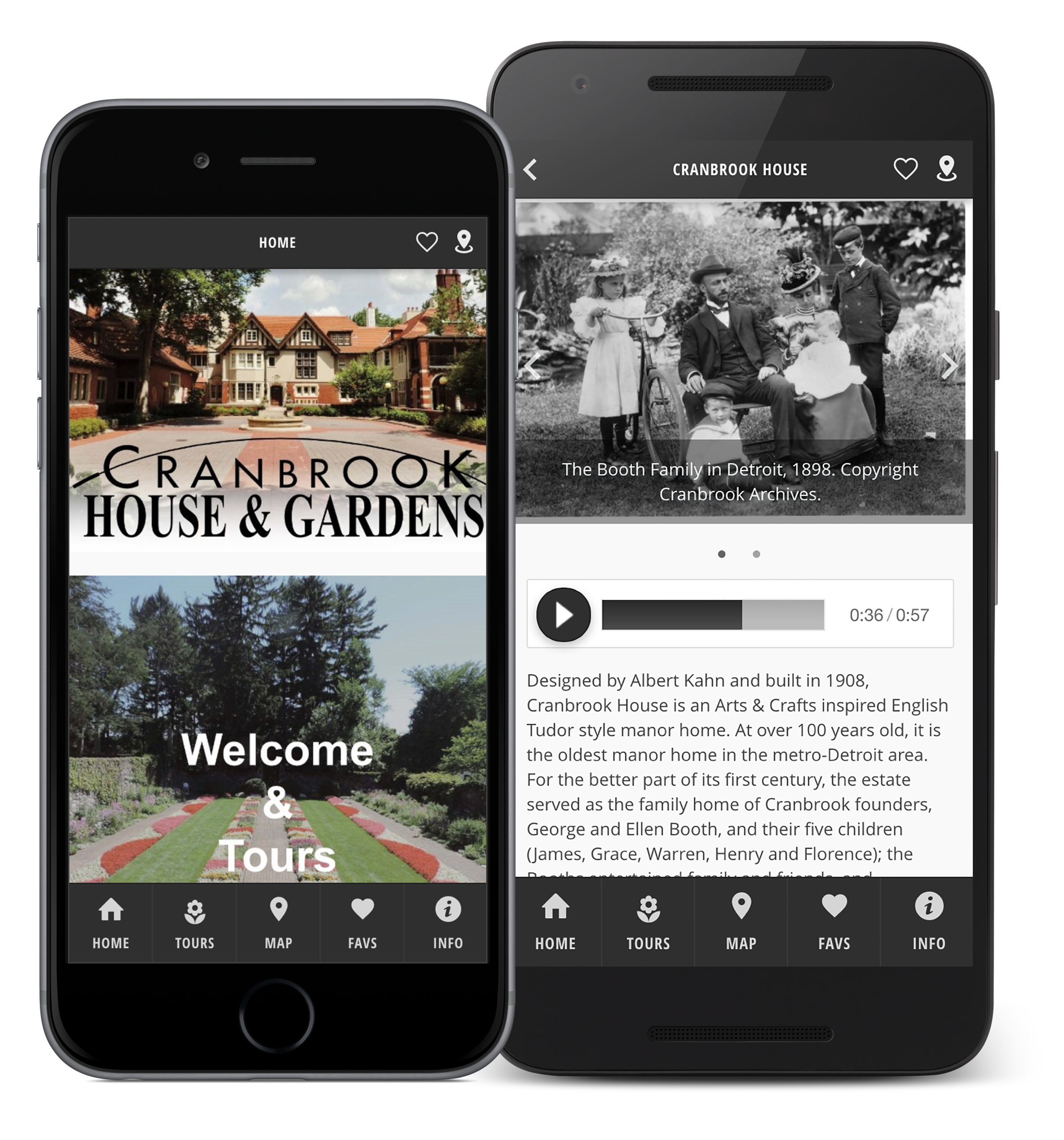 App Spotlight Cranbrook House And Gardens Oncell Points