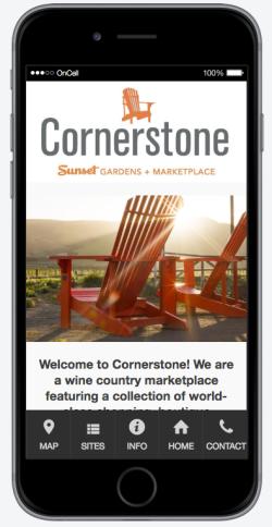 Cornerstone Sonoma Mobile App