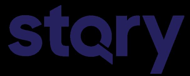 STQRY logotype blue RGB